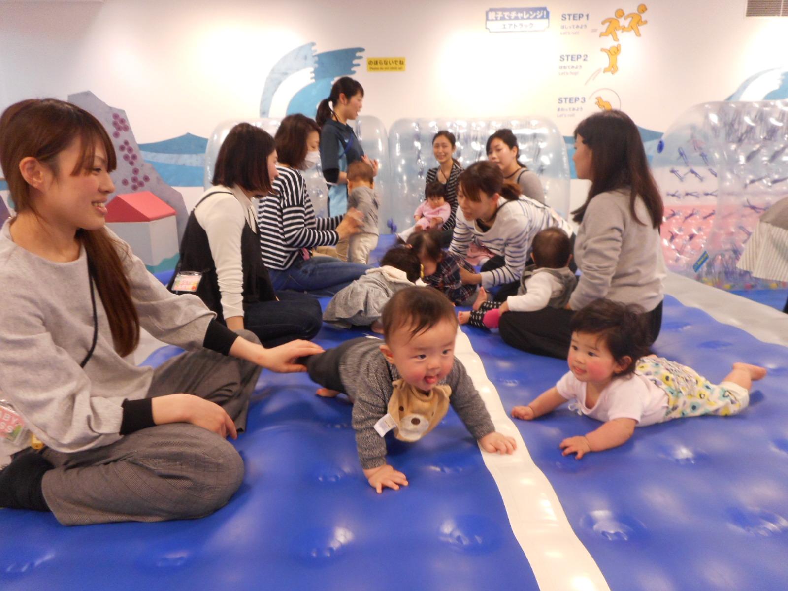 【毎月第1木曜日 赤ちゃんの日】 キドキド探検ツアー