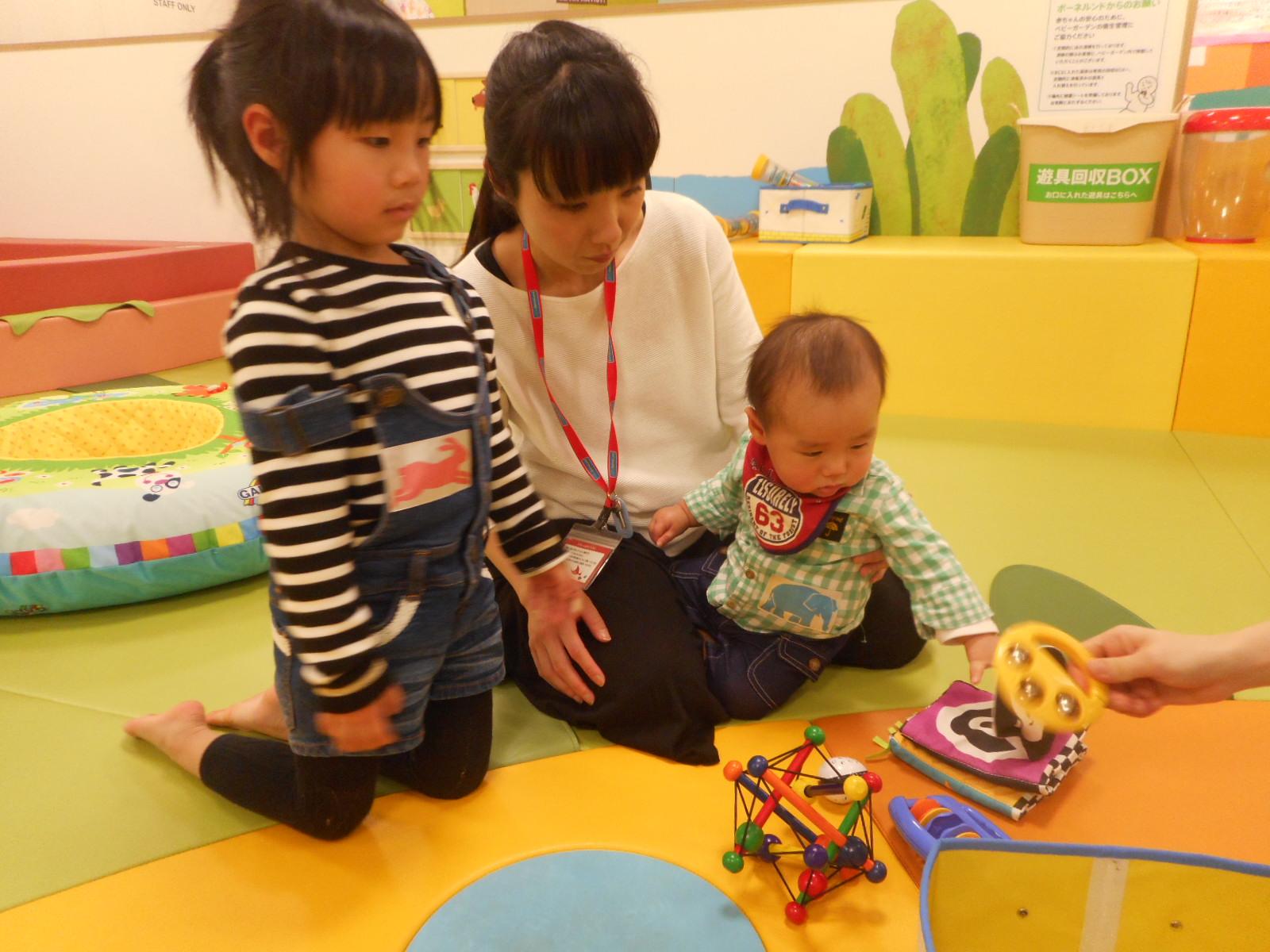 4月 赤ちゃんの日のイベントの様子 part1