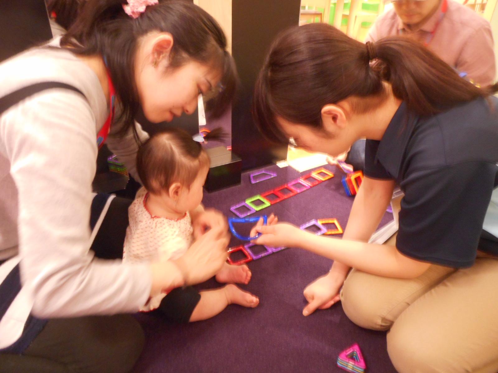 5月 赤ちゃんの日のイベントの様子 Part1