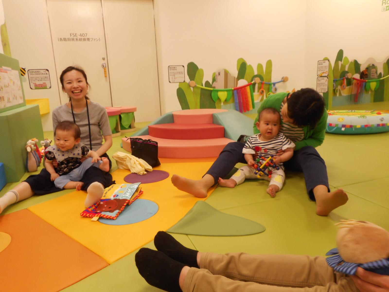 6月 赤ちゃんの日のイベントの様子 Part1