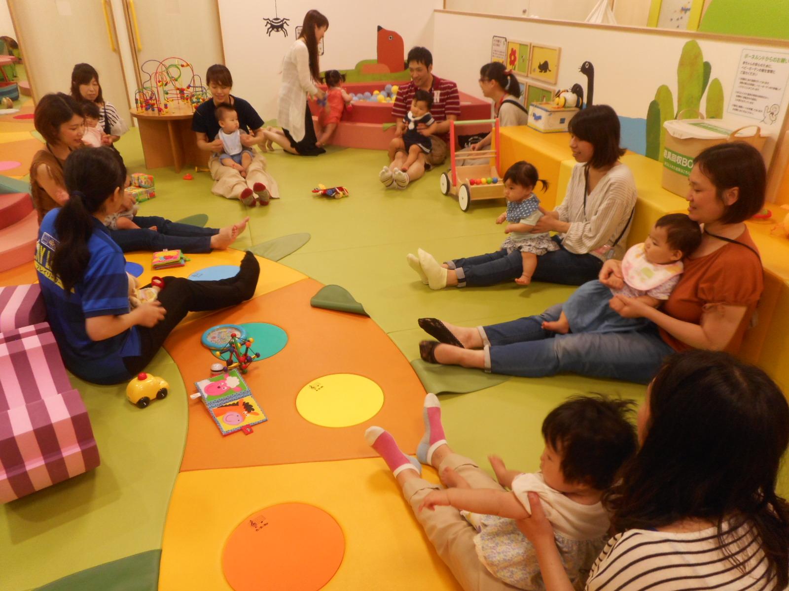 7月 赤ちゃんの日のイベントの様子 Part1