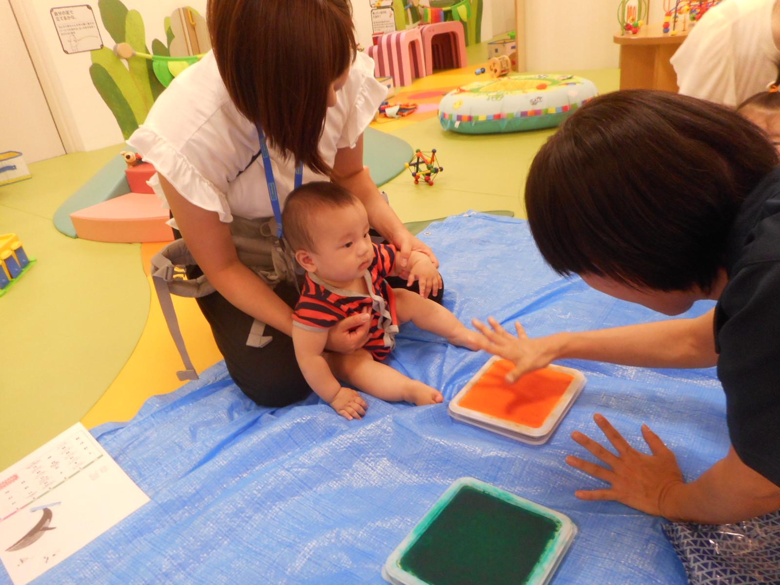 7月 赤ちゃんの日のイベントの様子 Part2