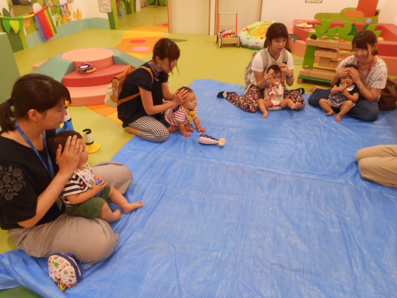 8月 赤ちゃんの日のイベントの様子 part3