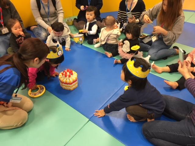 11月生まれのお誕生日会の様子