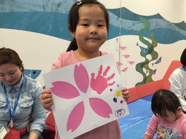 【4/8告知イベント】桜の花びらを集めて大きな桜の木をつくろう