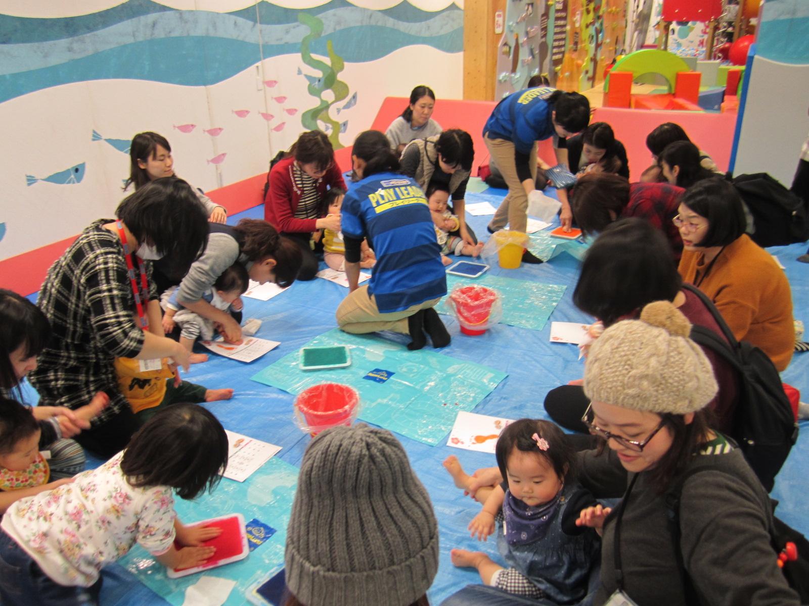 12月 赤ちゃんの日のイベントの様子 Part2