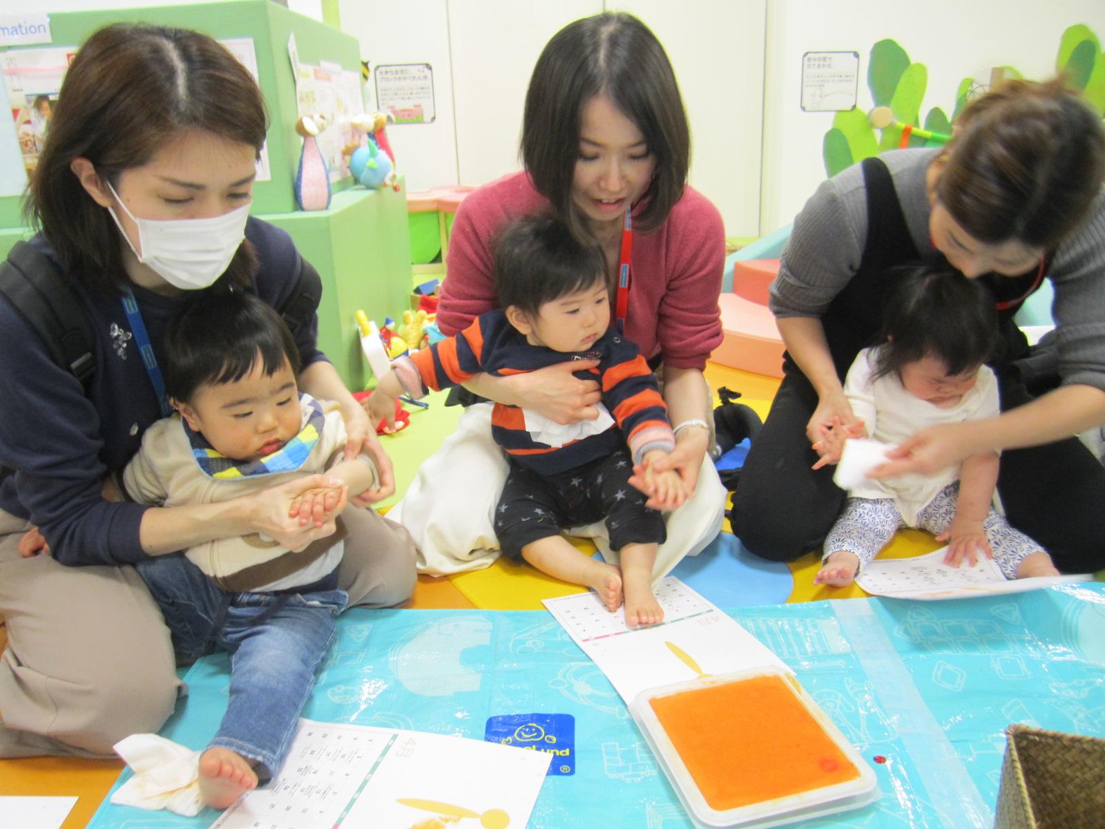 3月の赤ちゃんの日のイベントの様子 Part2