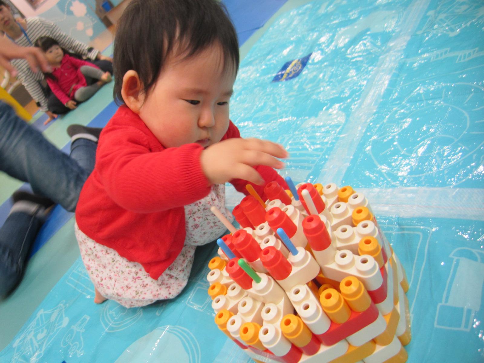 4月生まれのお誕生日会の様子