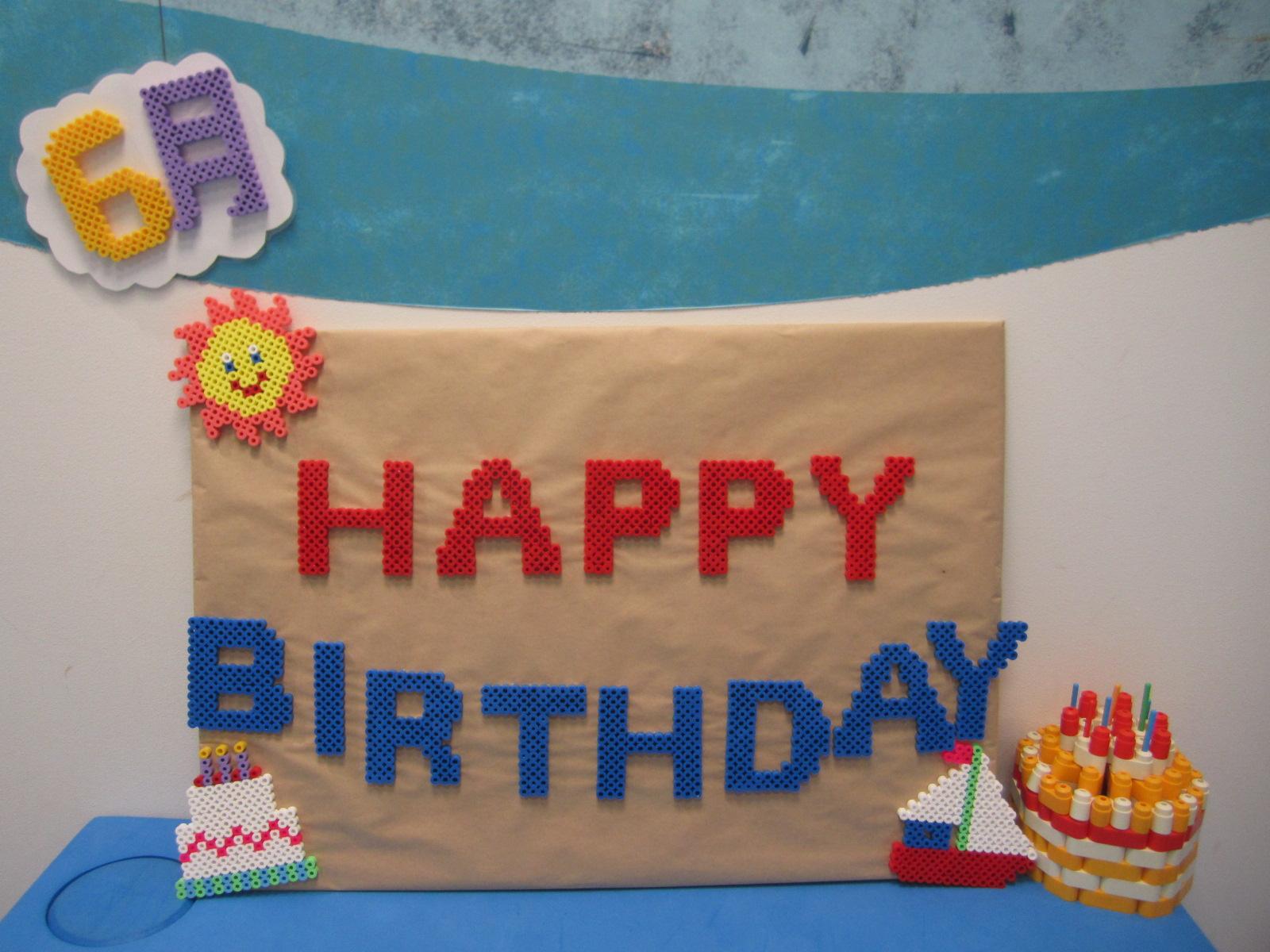 6月生まれのお誕生日会の様子