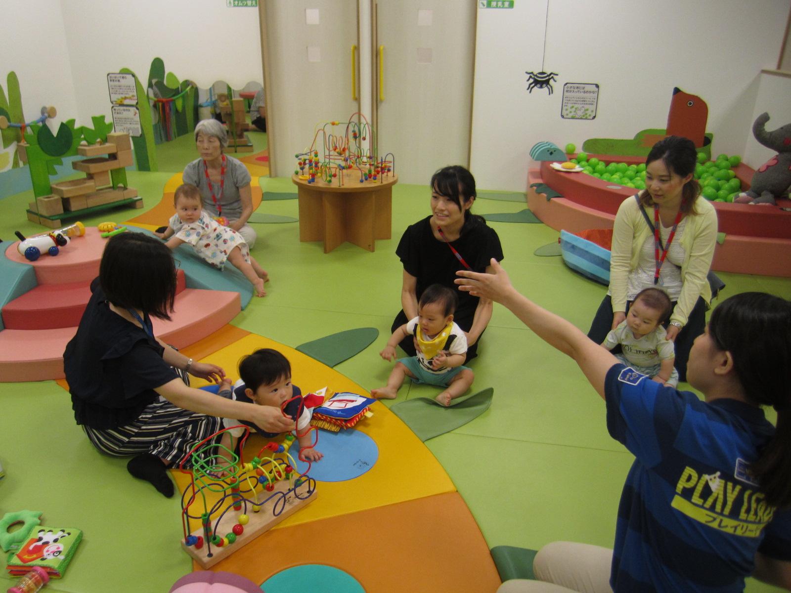 8月赤ちゃんの日のイベントの様子 Part1