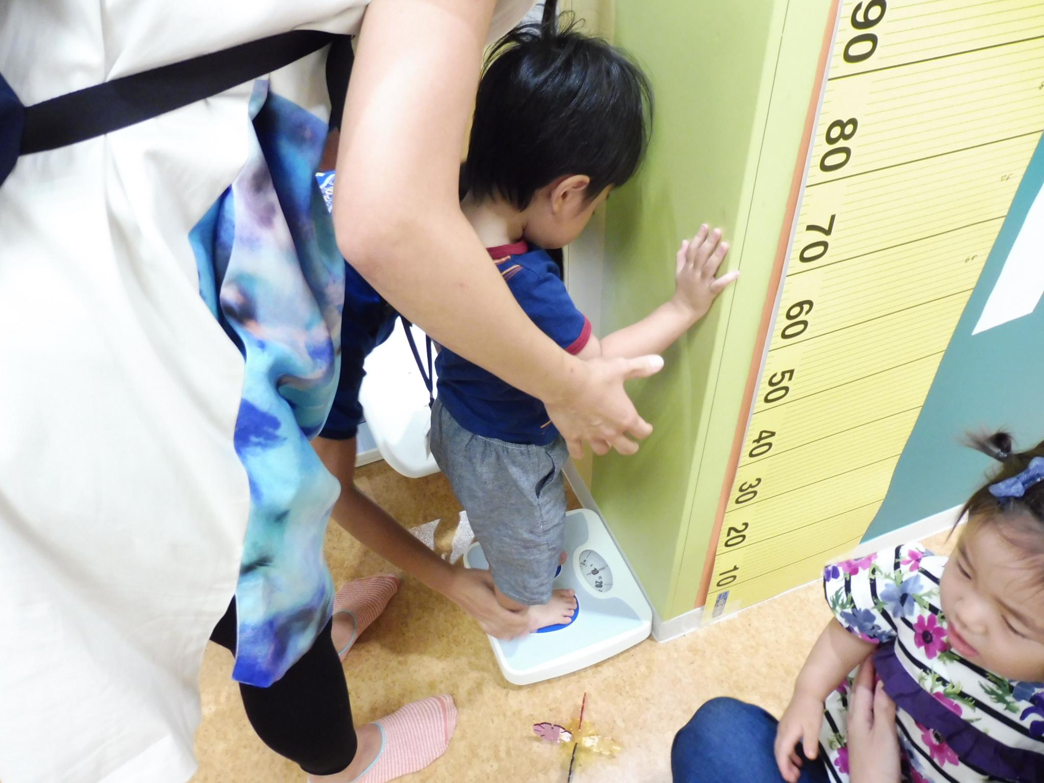 9月18・20日の赤ちゃんの日の様子