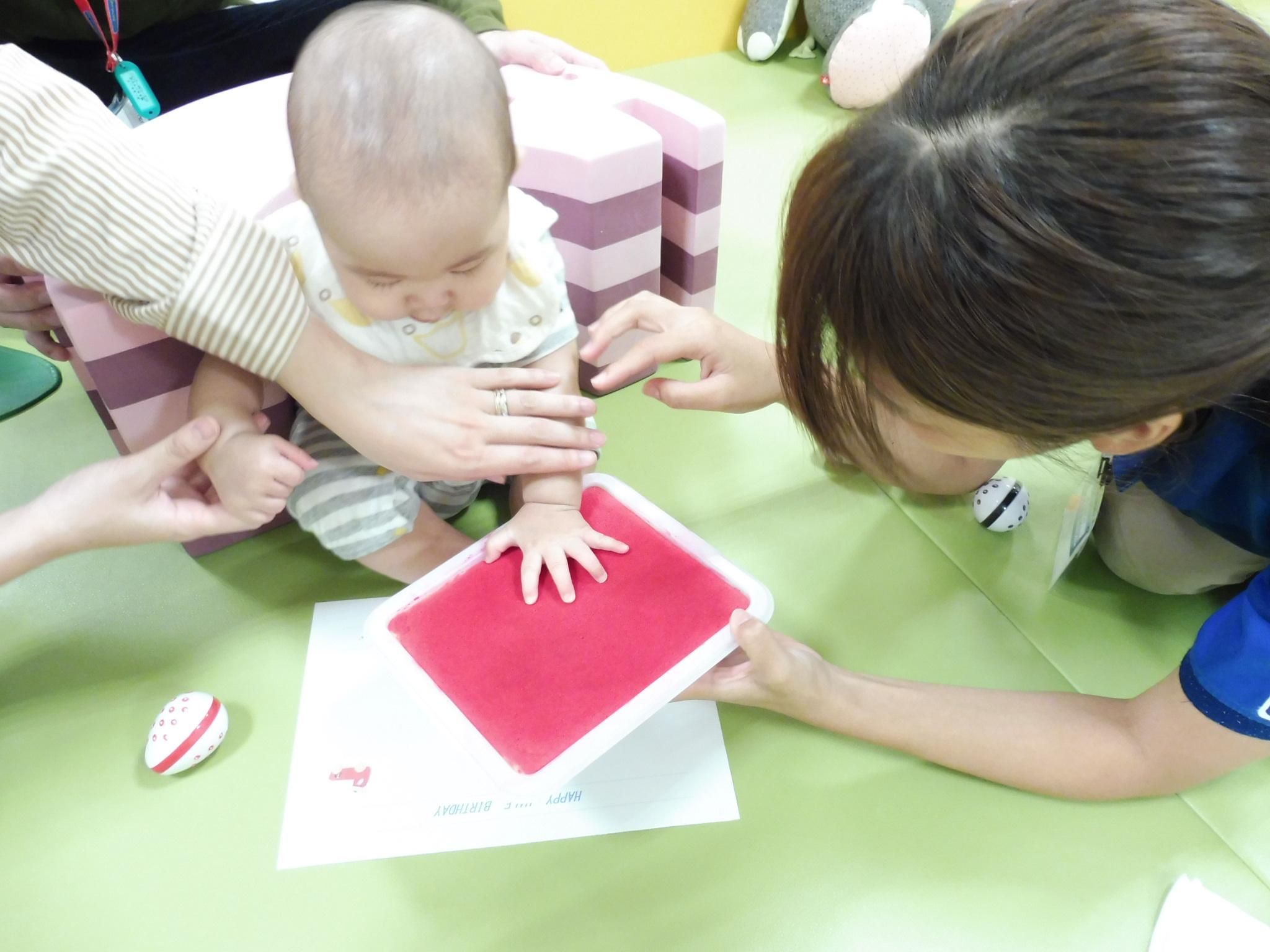 9月25日・27日の赤ちゃんの日の様子