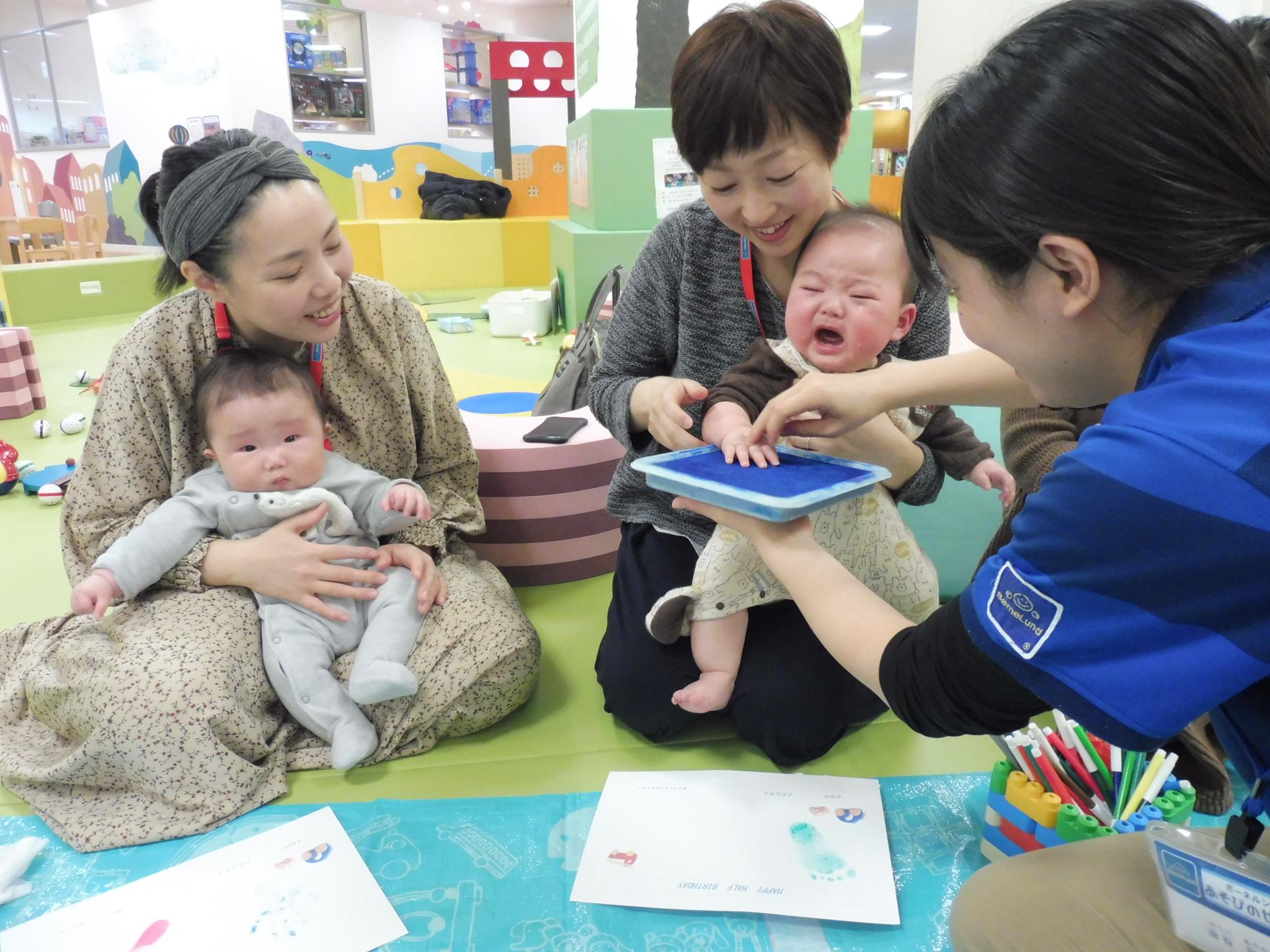 2月26日、28日赤ちゃんイベントの様子