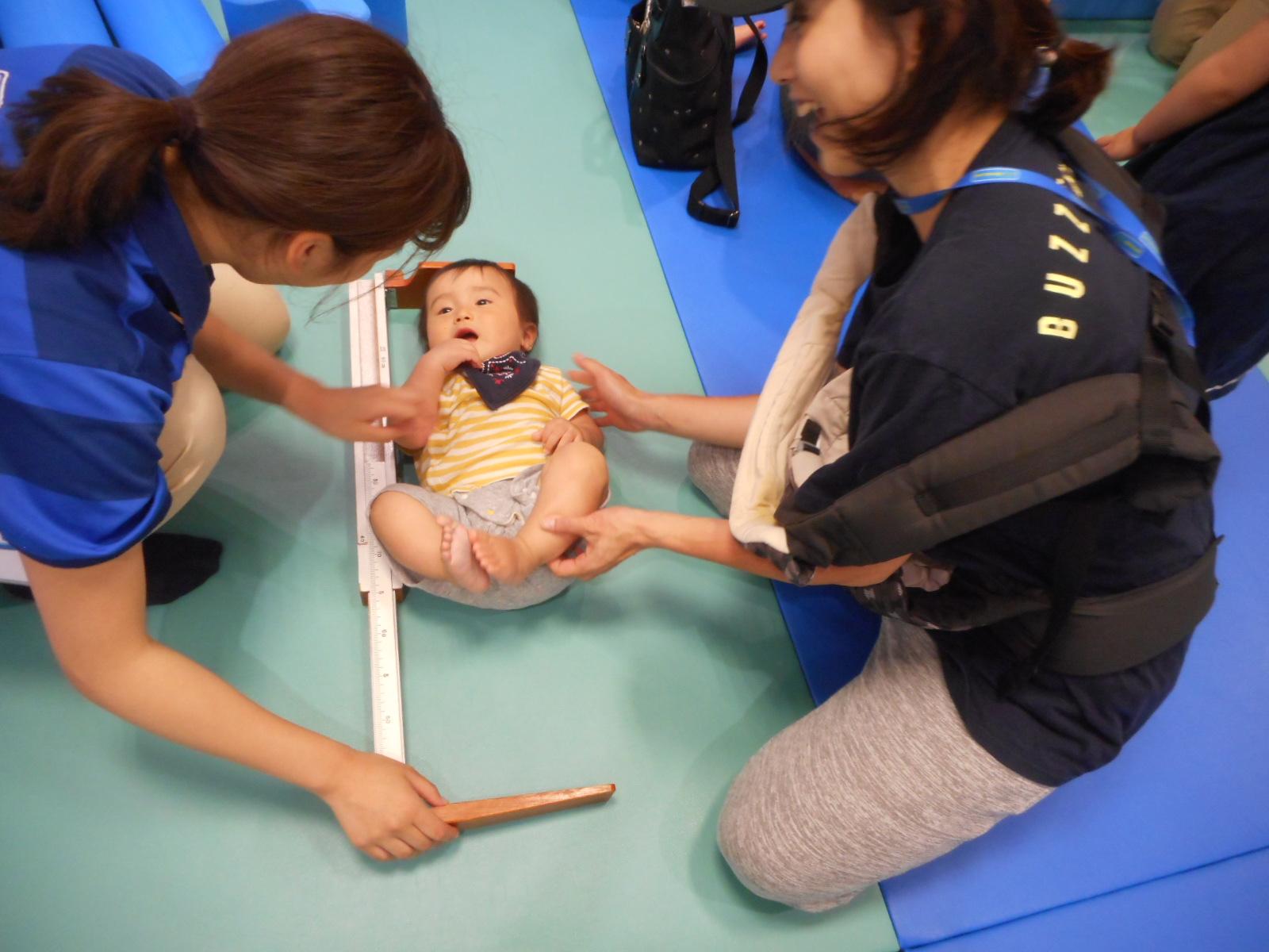 7月【赤ちゃんの日】成長の記録会