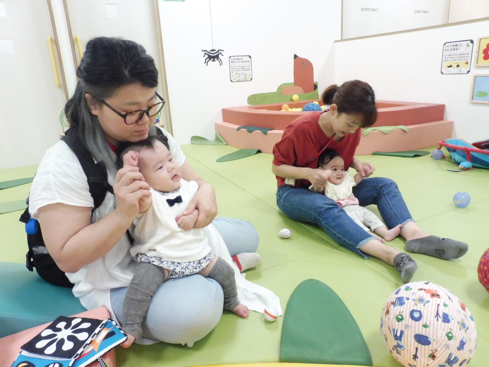 9月3日、5日の赤ちゃんイベントの様子