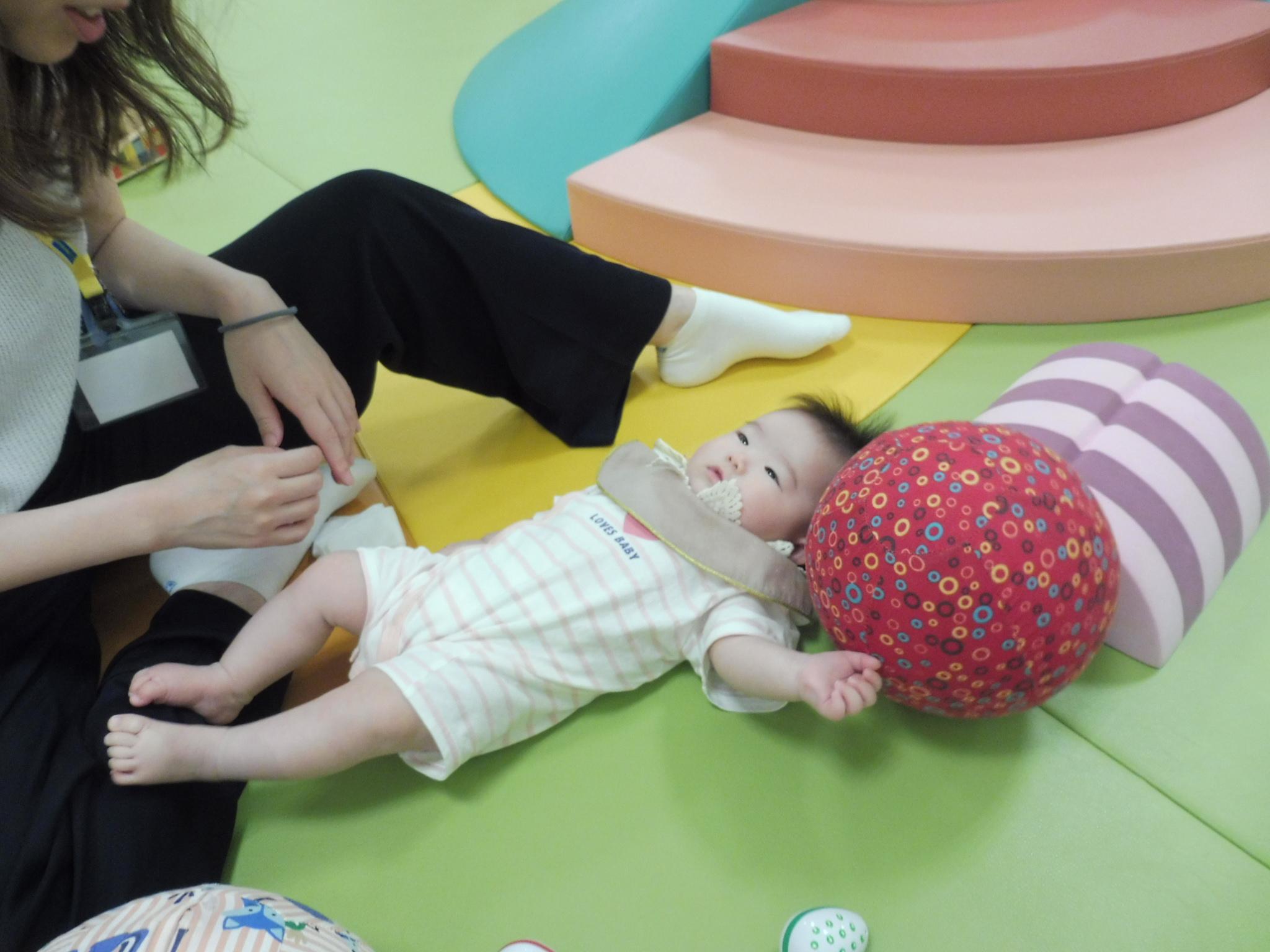 9月10日と12日の赤ちゃんの日イベントの様子