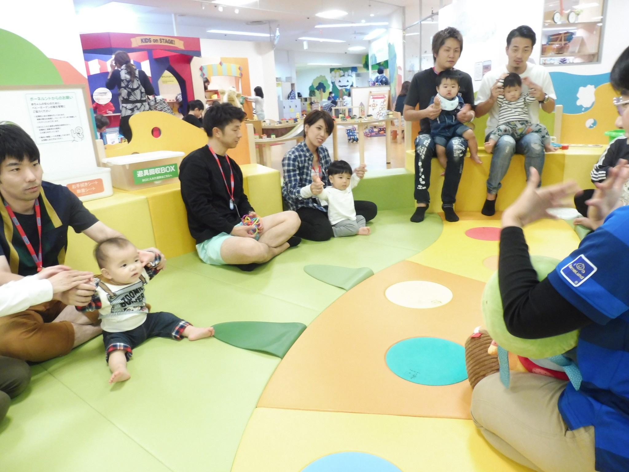 10月22日と10月24日の赤ちゃんイベントの様子