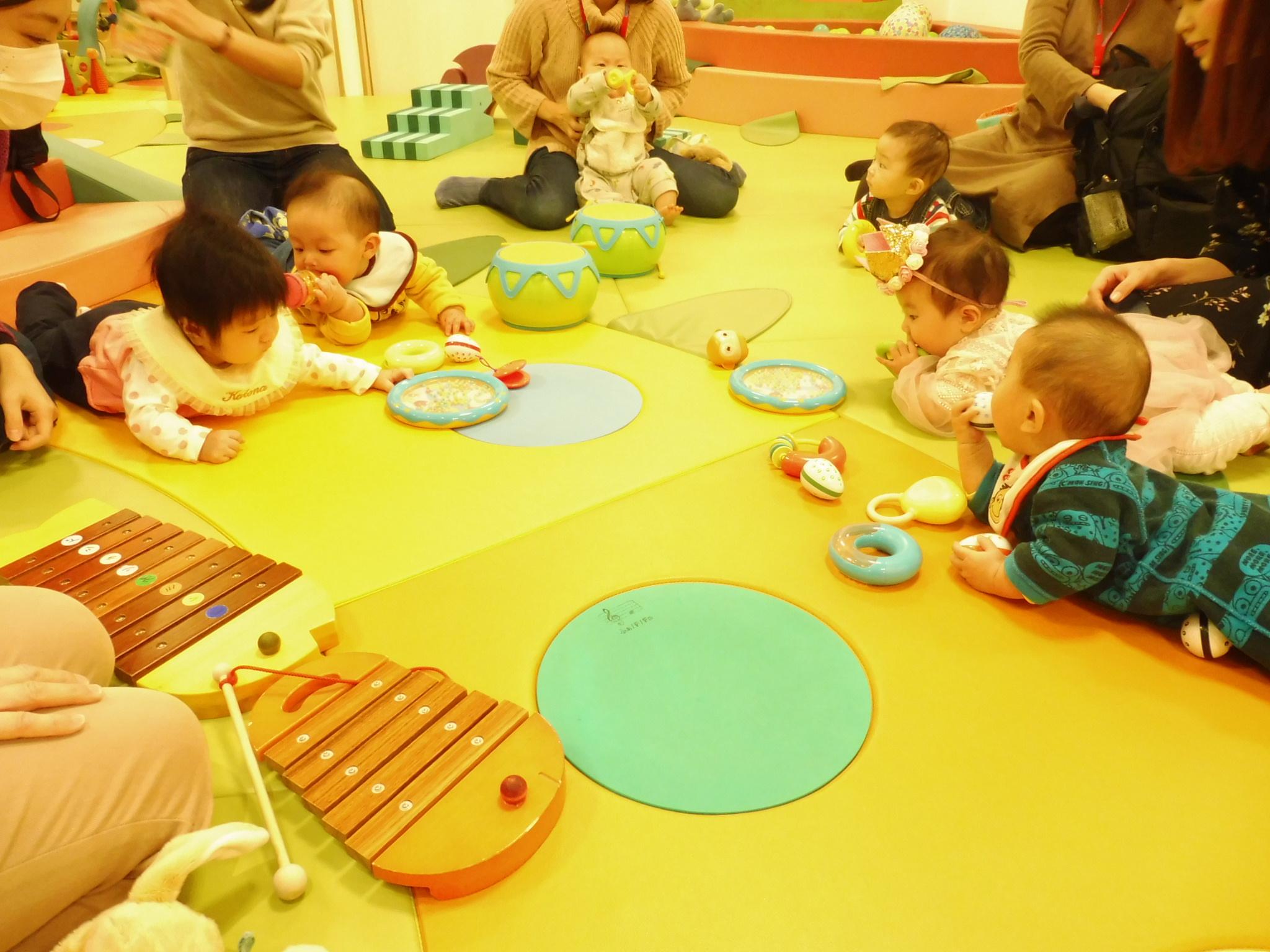 11月26日と28日の赤ちゃんイベントの様子