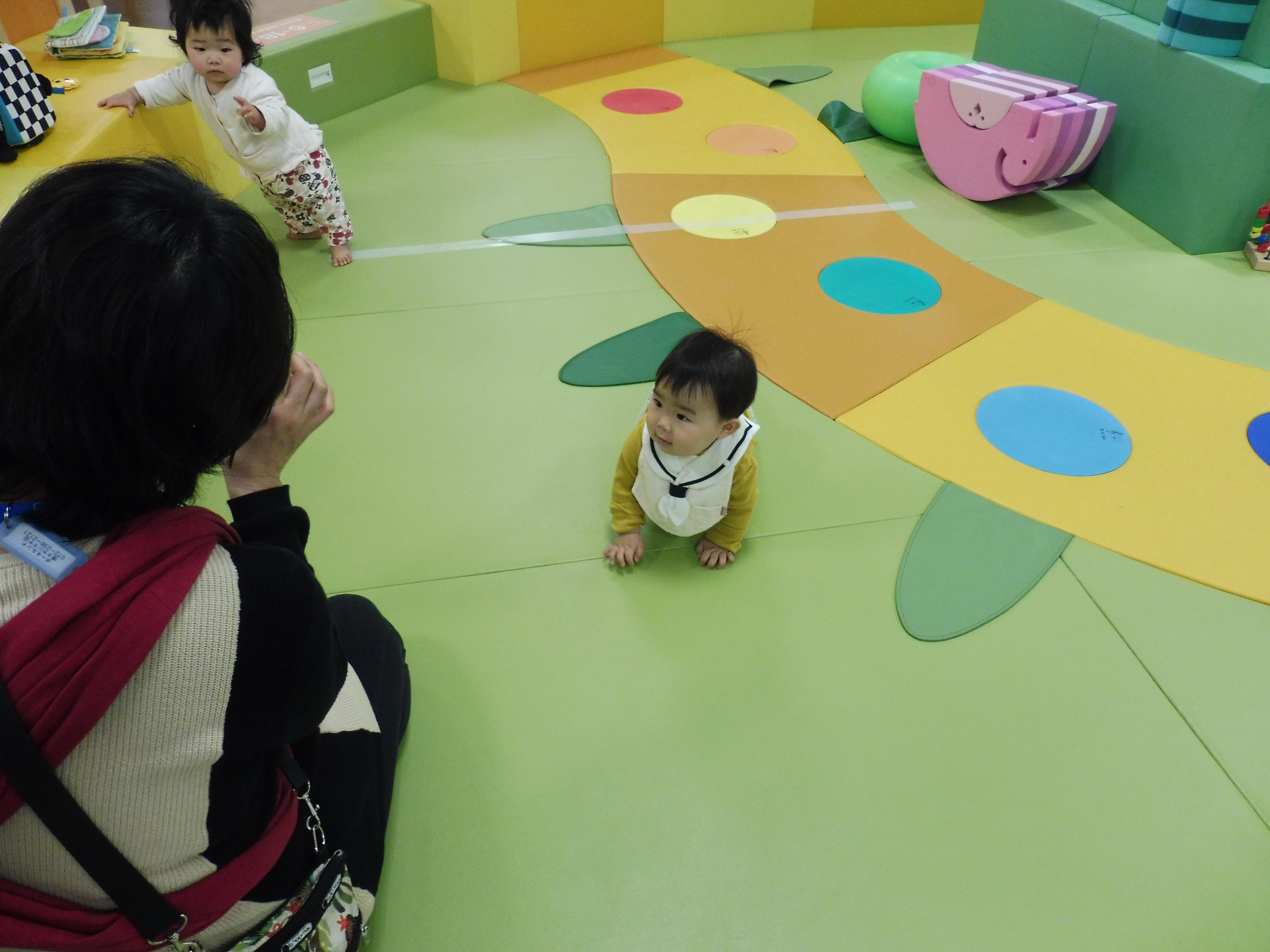 1月9日の赤ちゃんイベントの様子