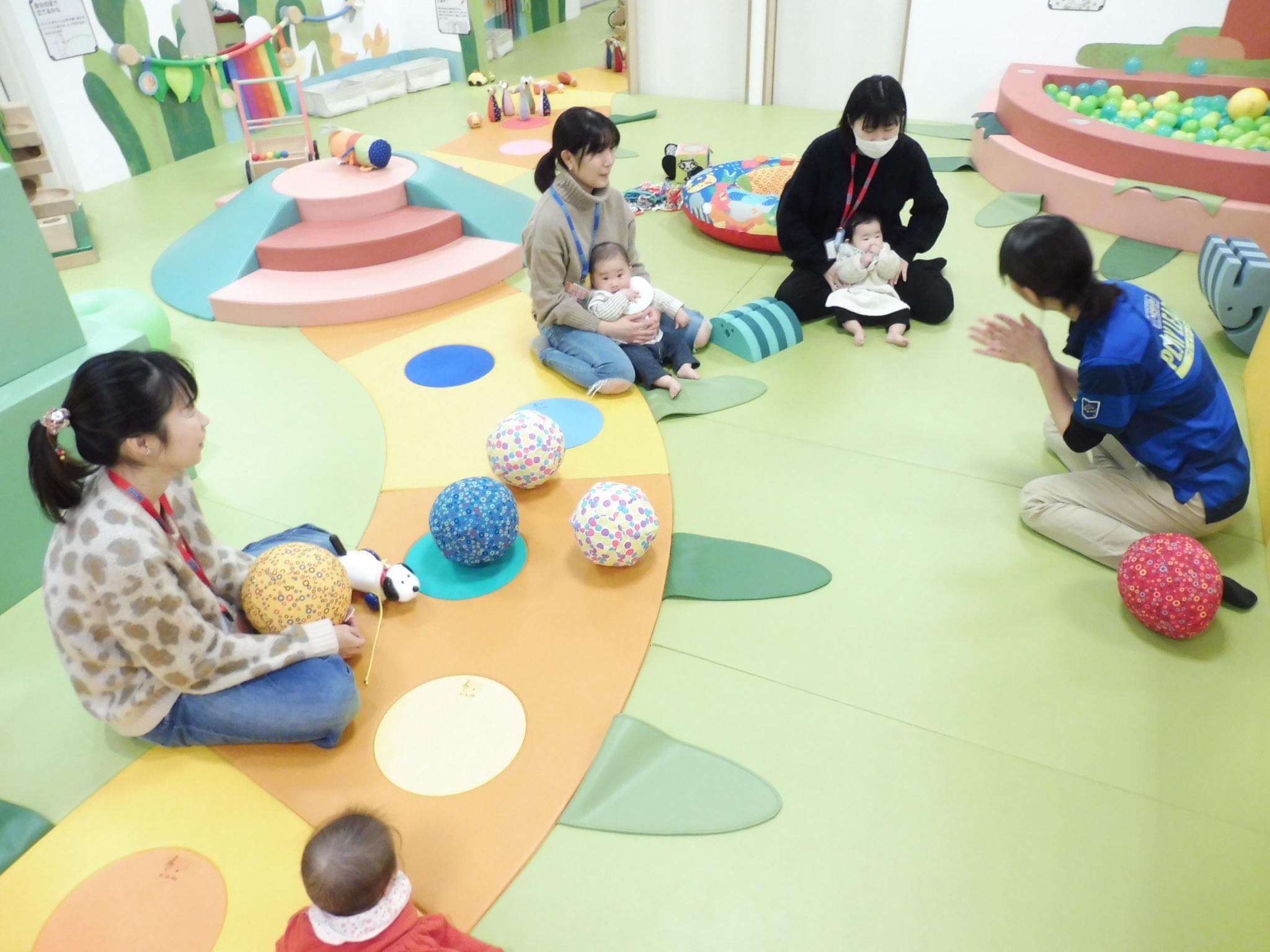 1月28日、30日赤ちゃんイベントの様子