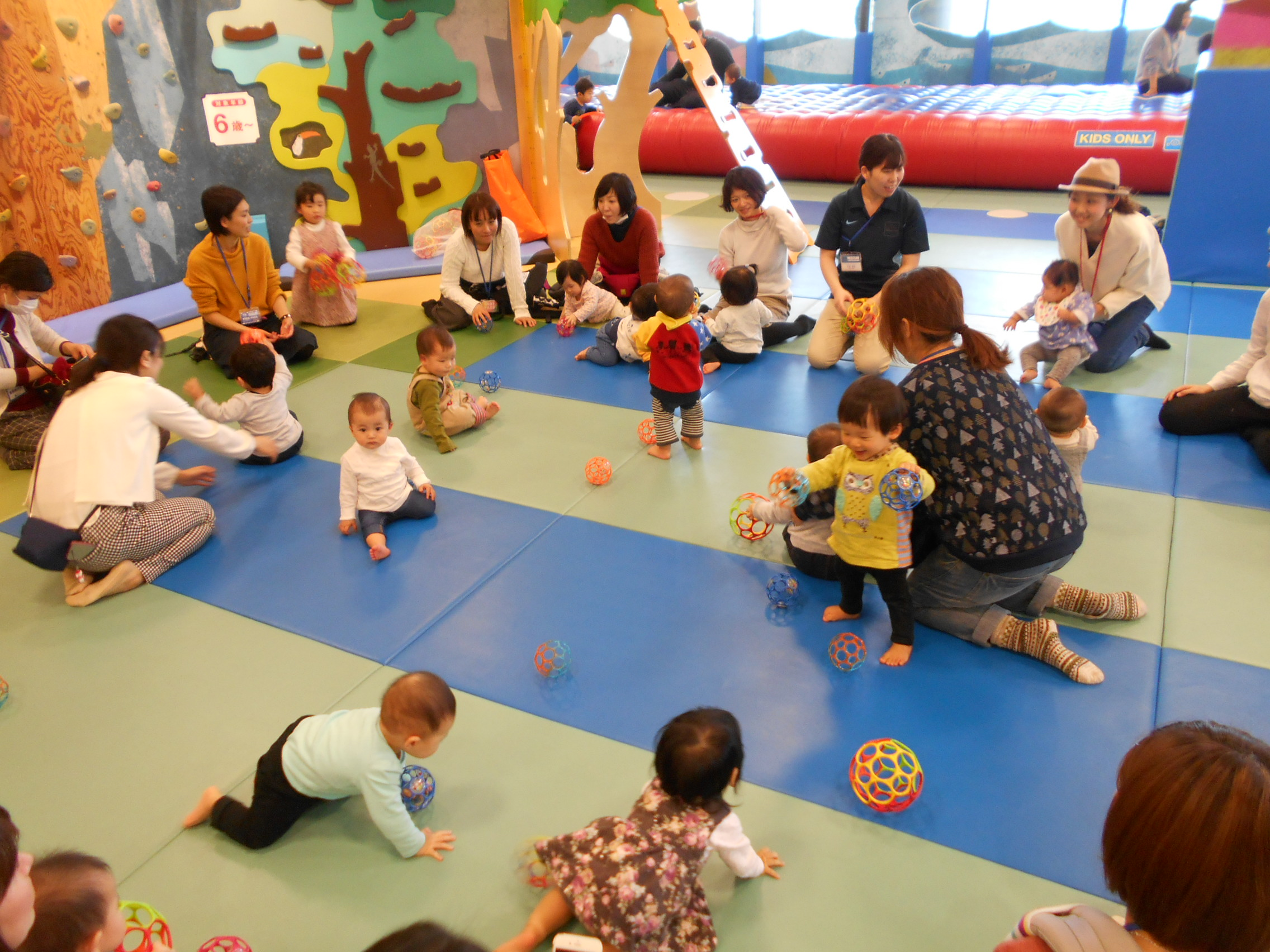 赤ちゃんの日イベント「音あそび」