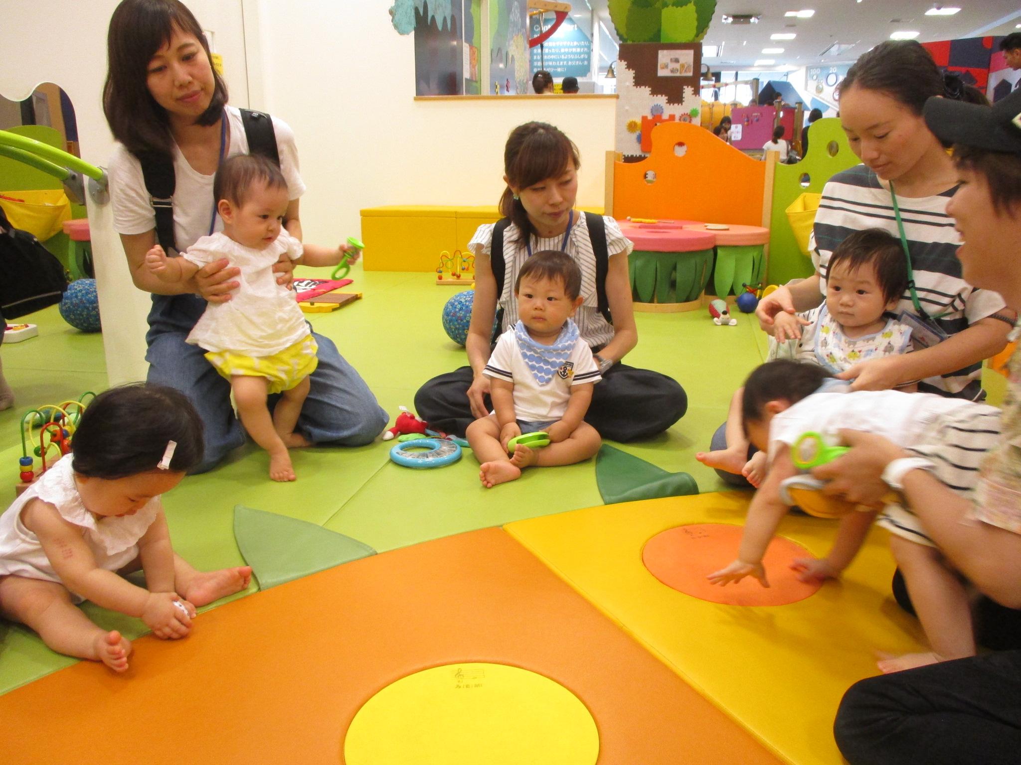 8/23(木)【赤ちゃんの日】おとあそび