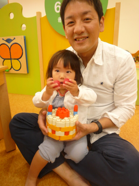 5.8お誕生日めいちゃん2才