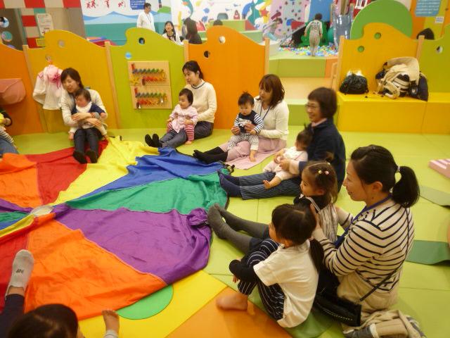 【イベント】パラバルーンであそぼう(4/4)・親子であそぼう!キドキドツアー(4/6)