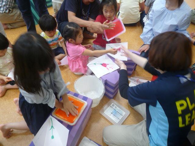 【イベント】母の日特別イベント☆手形でオリジナルメッセージカードづくり(5/6・5/7)