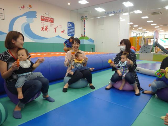 6/8(木)【ベビーイベント】親子でからだあそび