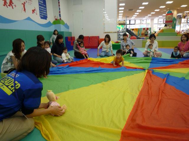 【イベント】大きな布であそぼう(5/16)・赤ちゃん音楽会(5/18)