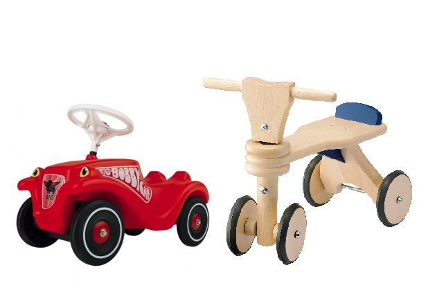 9月からキドキドに『ボビーカー』、『はじめての木製バイク』が登場!