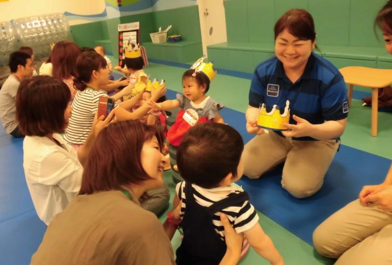 【9月】1歳のお誕生日会のお知らせ