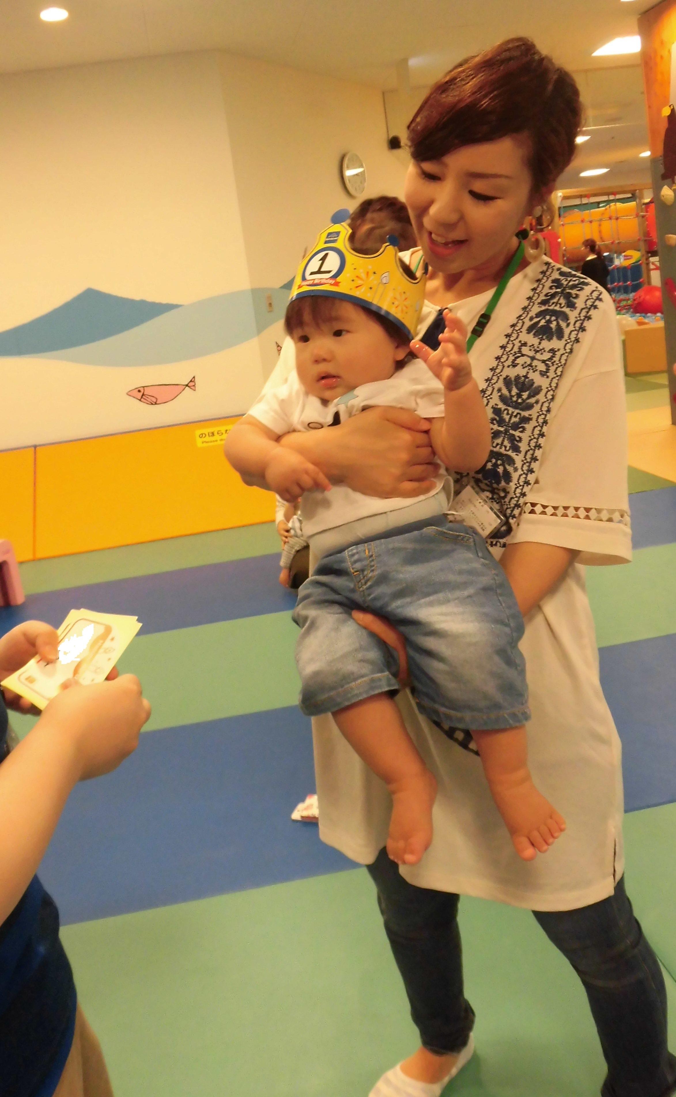 1歳のお誕生日会☆