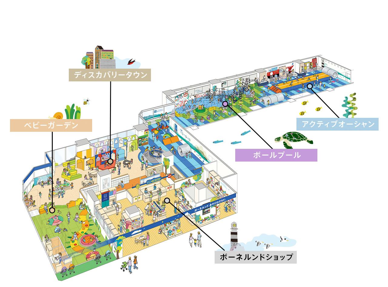 タカシマヤキッズパティオ 博多リバレインモール店
