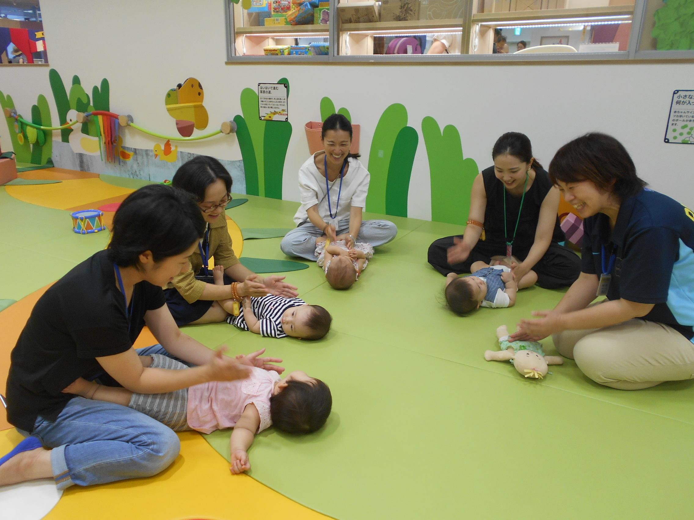 【6ヶ月未満のお子様へ】6月のプレキドキド体験会のご案内