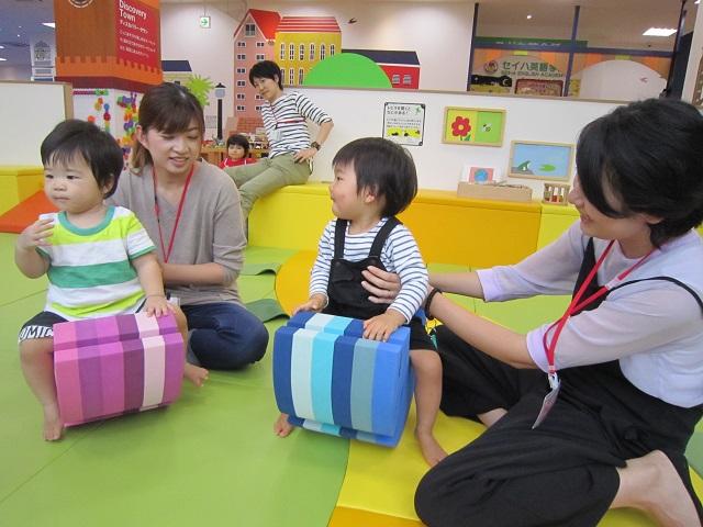 赤ちゃんの日のイベント「ボブルスあそび」