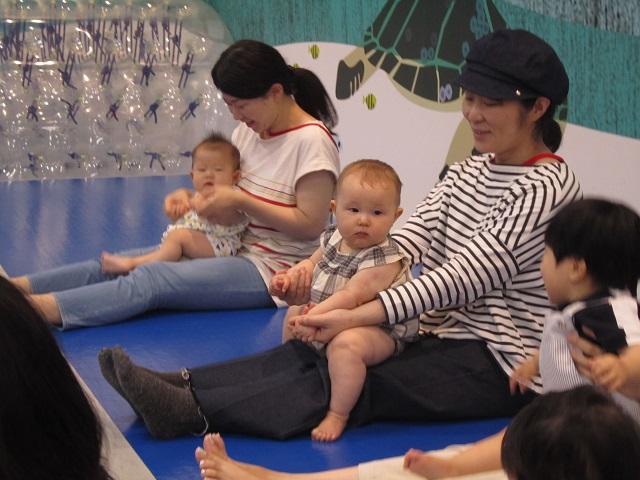 赤ちゃんの日イベント 「トランポリンあそび」