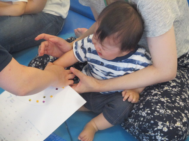 6月29日、7月6日 赤ちゃんの日イベント報告