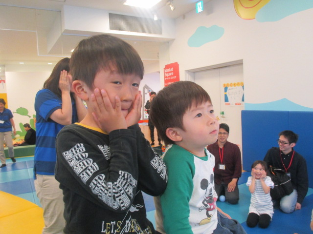 4月14日 土曜日特別イベント「春のかくれんぼ大会」ご報告