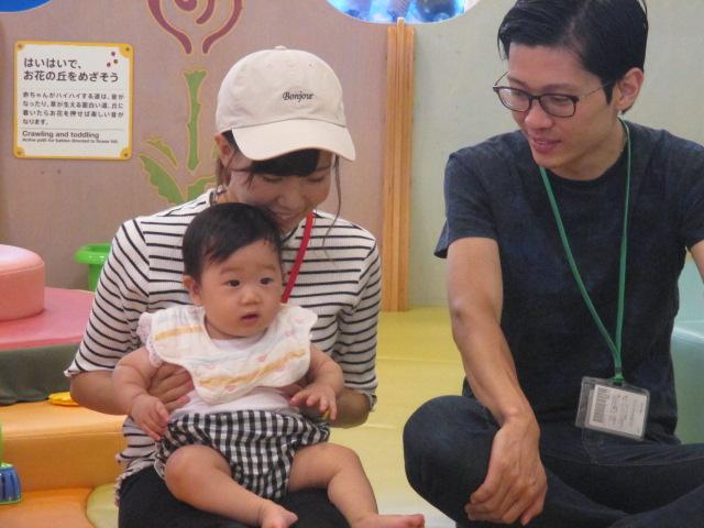 8月9日 赤ちゃんの日イベント報告