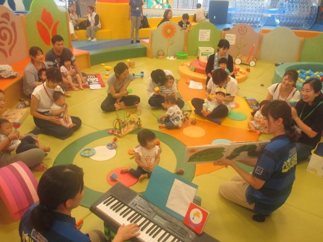 赤ちゃんの日「物語と楽器」