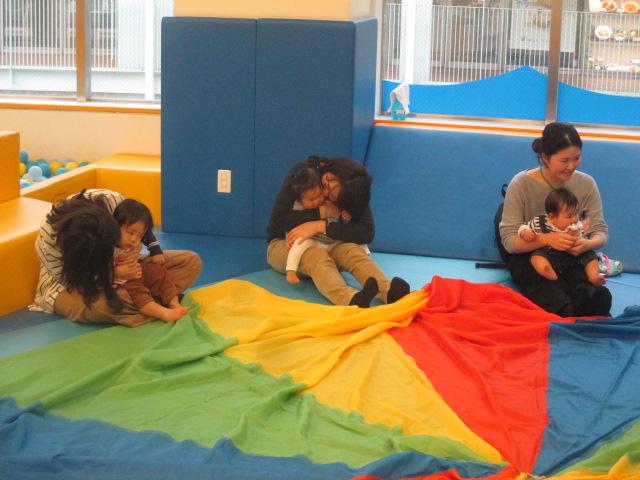 1月15日 赤ちゃんの日イベント「パラシュート」のご報告