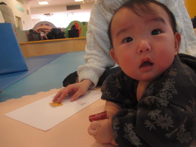 1月29日 赤ちゃんの日イベント「2月のカレンダー作り」のご報告
