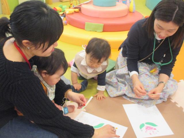 3月19日 赤ちゃんの日イベント「4月のカレンダー作り」のご報告