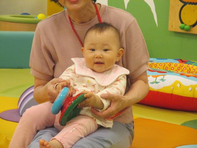 5月9日 赤ちゃんの日イベント「パラシュート」のご報告