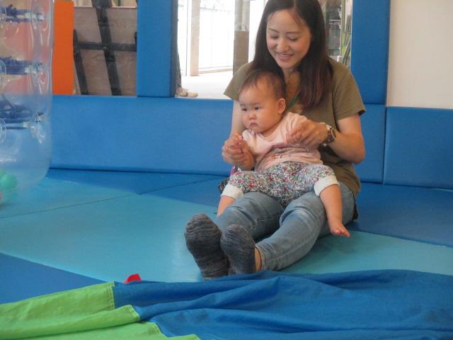 6月20日 赤ちゃんの日イベント「パラシュート」のご報告