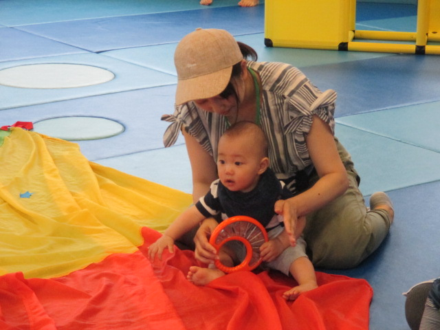 7月4日 赤ちゃんの日イベント「ハイハイレース」のご報告