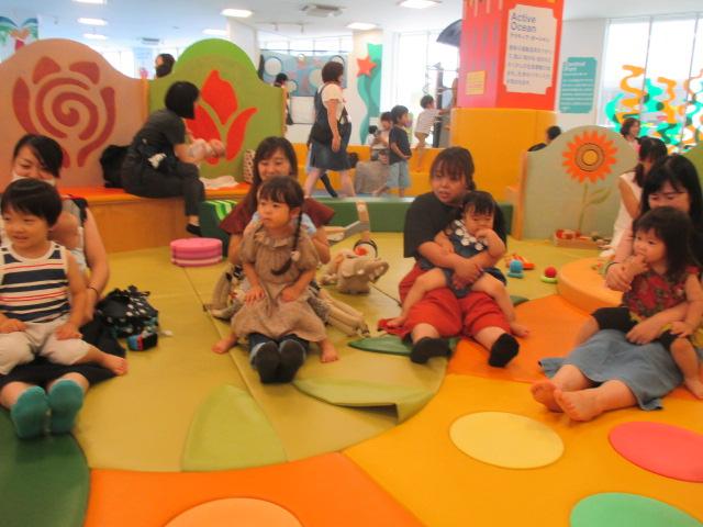 8月22日 赤ちゃんの日イベント「9月カレンダー作り」のご報告