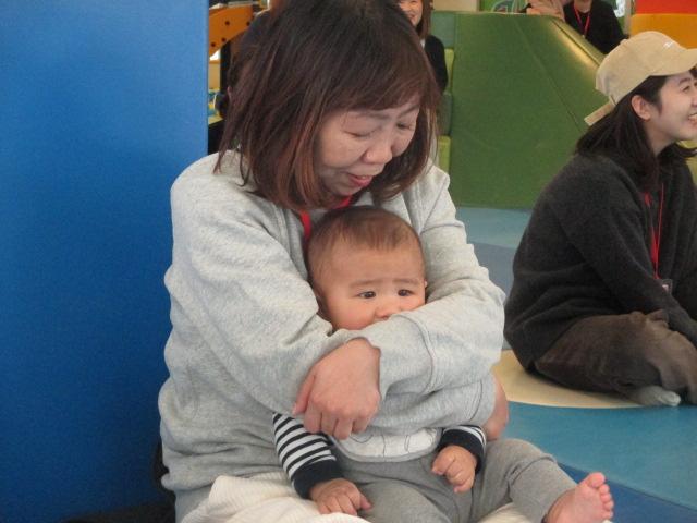 1月9日 赤ちゃんの日イベント「ハイハイレース」のご報告